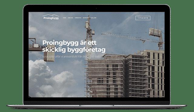 Proingbygg - Byggföretag i Stockholm