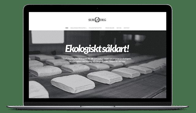 Surådeg - Bakeri som bakar ekologiska bröd