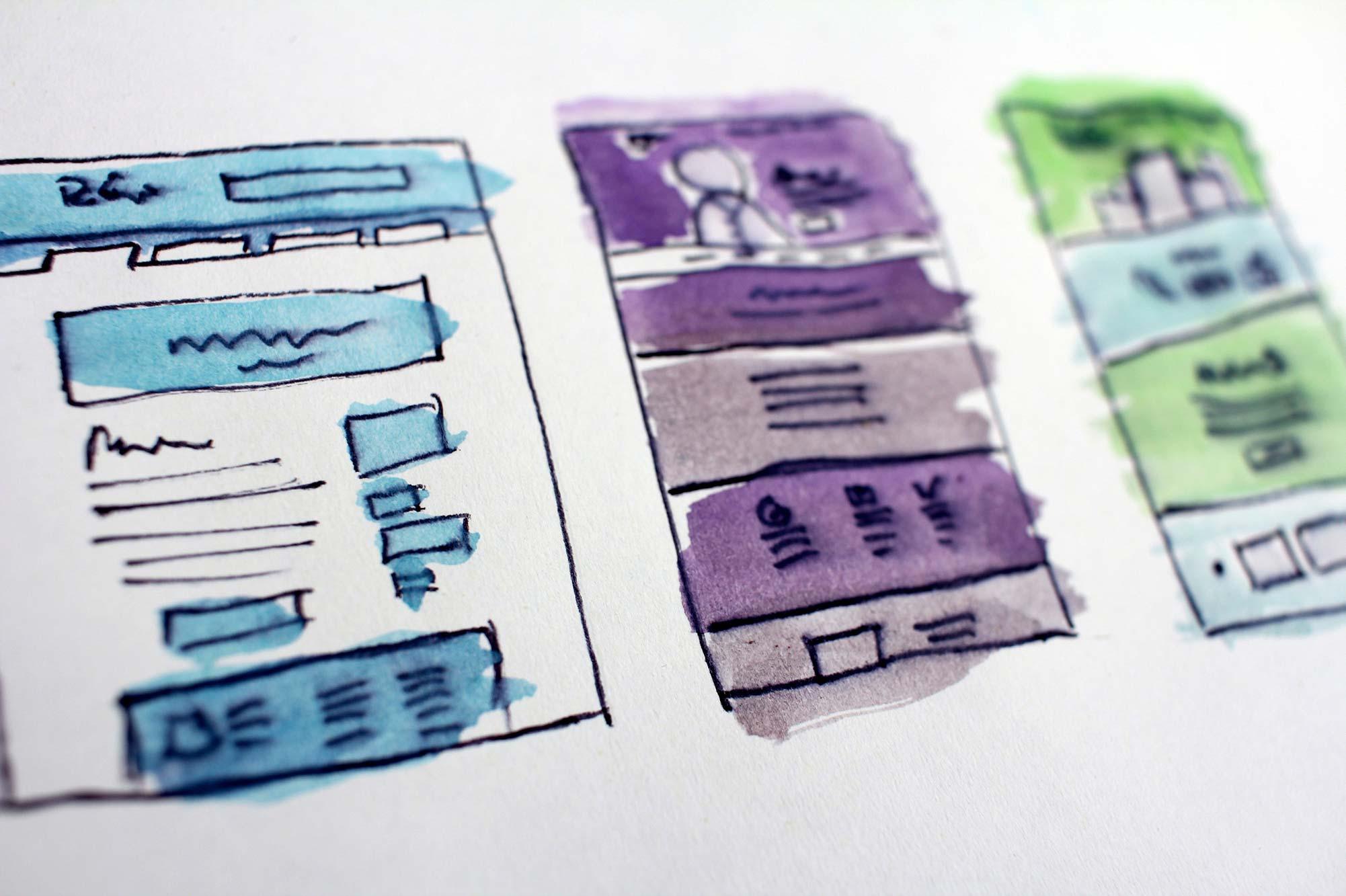 Webbdesign går inte bara ut på att skapa men även på att planera och få så bra överblick som möjligt