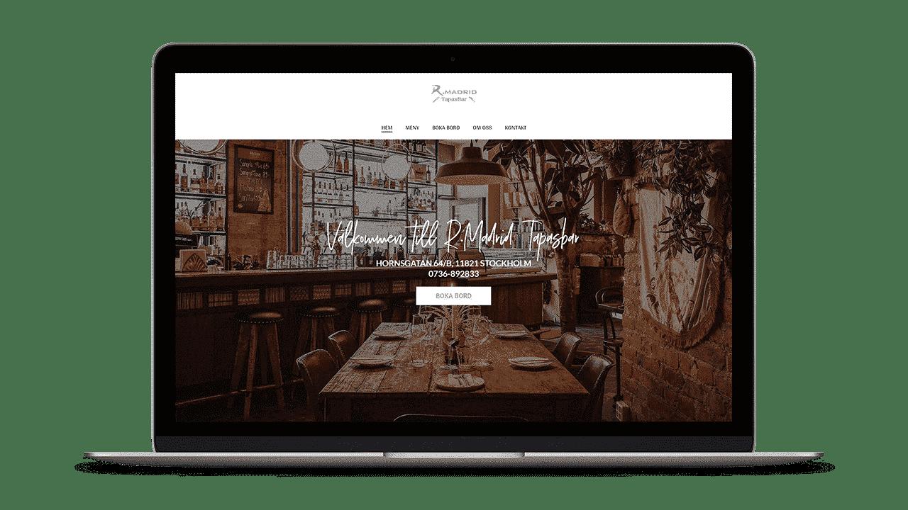 Madrid Tapasbar Restaurang i Stockholm